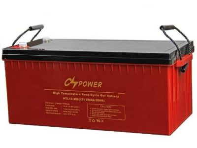 Solar Dry Battery 12V 200Ah