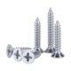 Metric drywall screws drywall to metal